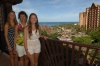 The Girls on Our Balcony at Aulani