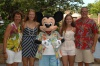 The Family with Mickey at Aulani