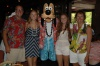 The Family with Goofey at Aulani