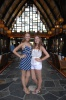 Lauren and Meagan in the Lobby at Aulani